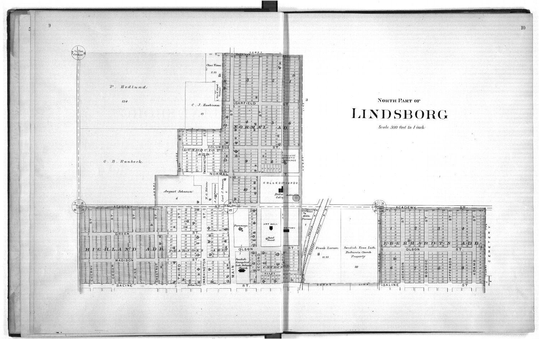 Plat book of McPherson County, Kansas - 9 & 10
