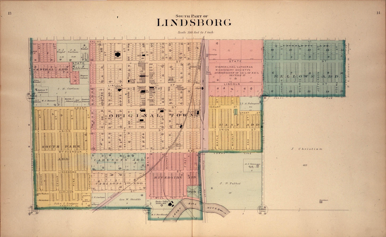Plat book of McPherson County, Kansas - 13 &14