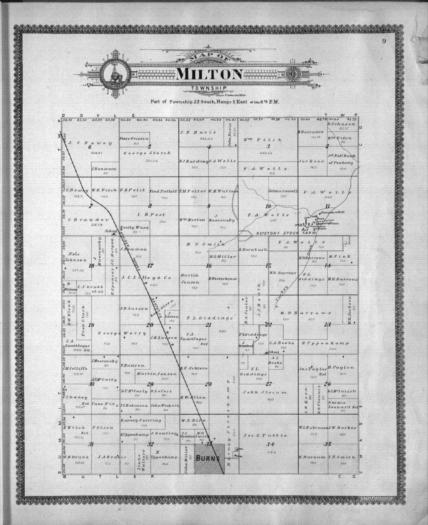 Standard atlas of Marion County, Kansas - 9