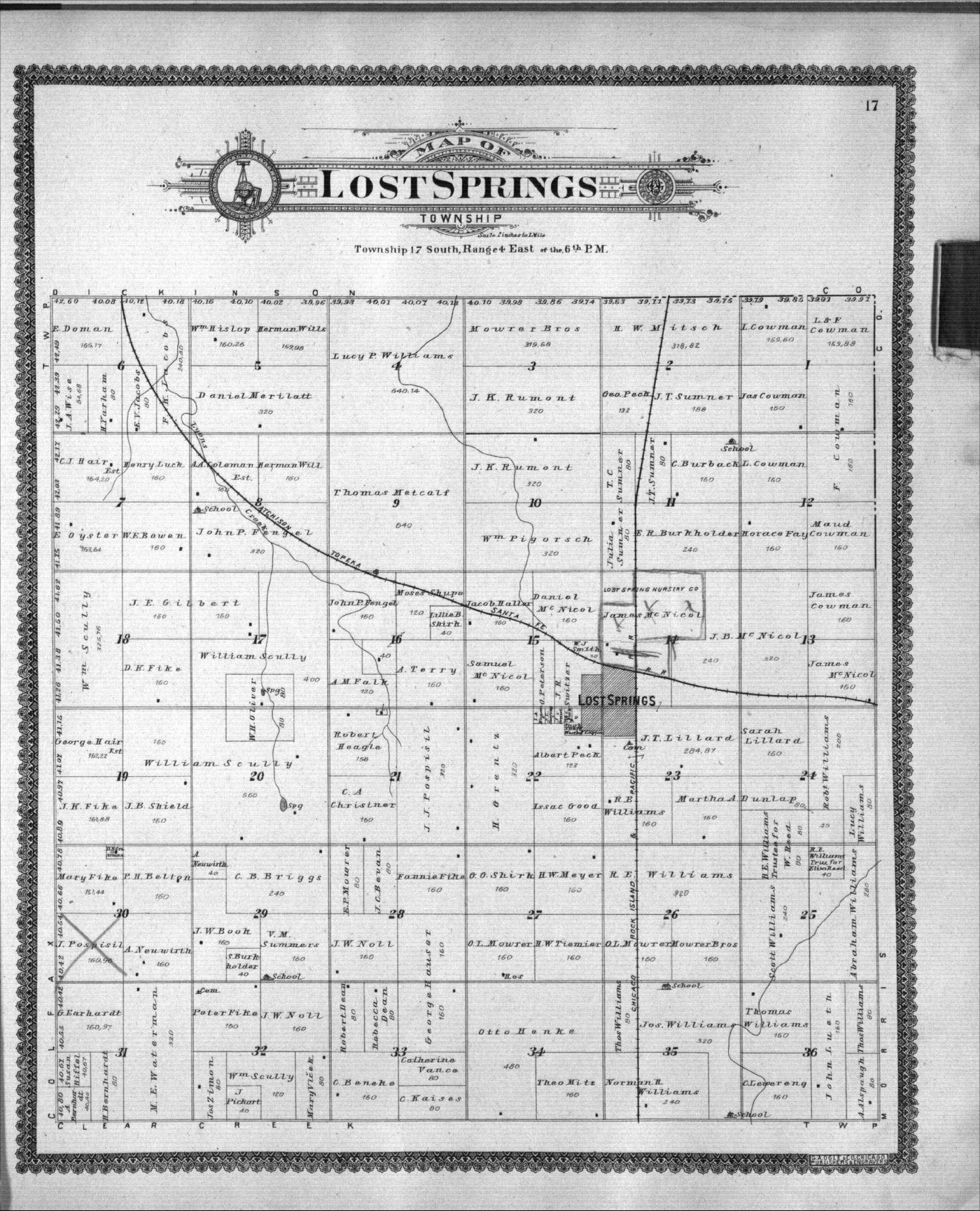 Standard atlas of Marion County, Kansas - 17