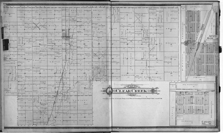 Standard atlas of Marion County, Kansas - 20 & 21