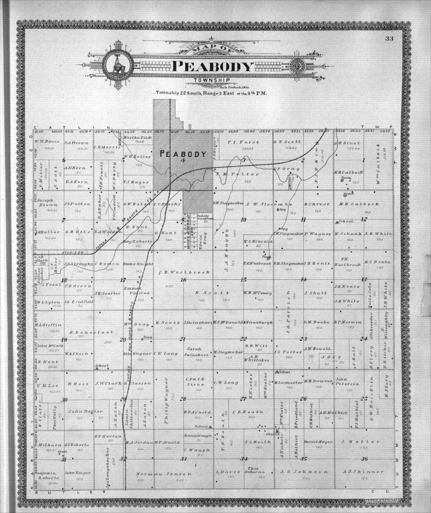 Standard atlas of Marion County, Kansas - 33