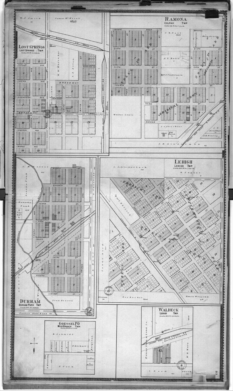 Standard atlas of Marion County, Kansas - 82 & 83