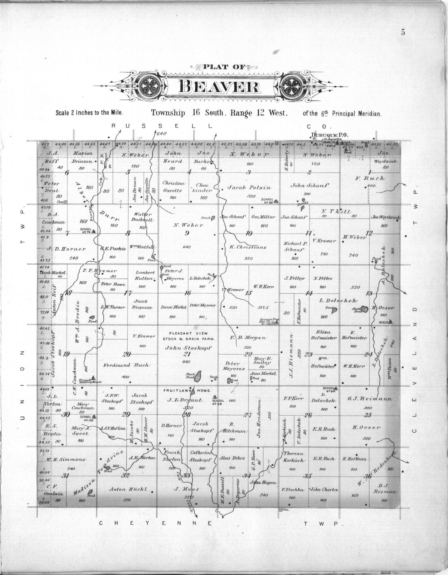 Plat book, Barton County, Kansas - 5