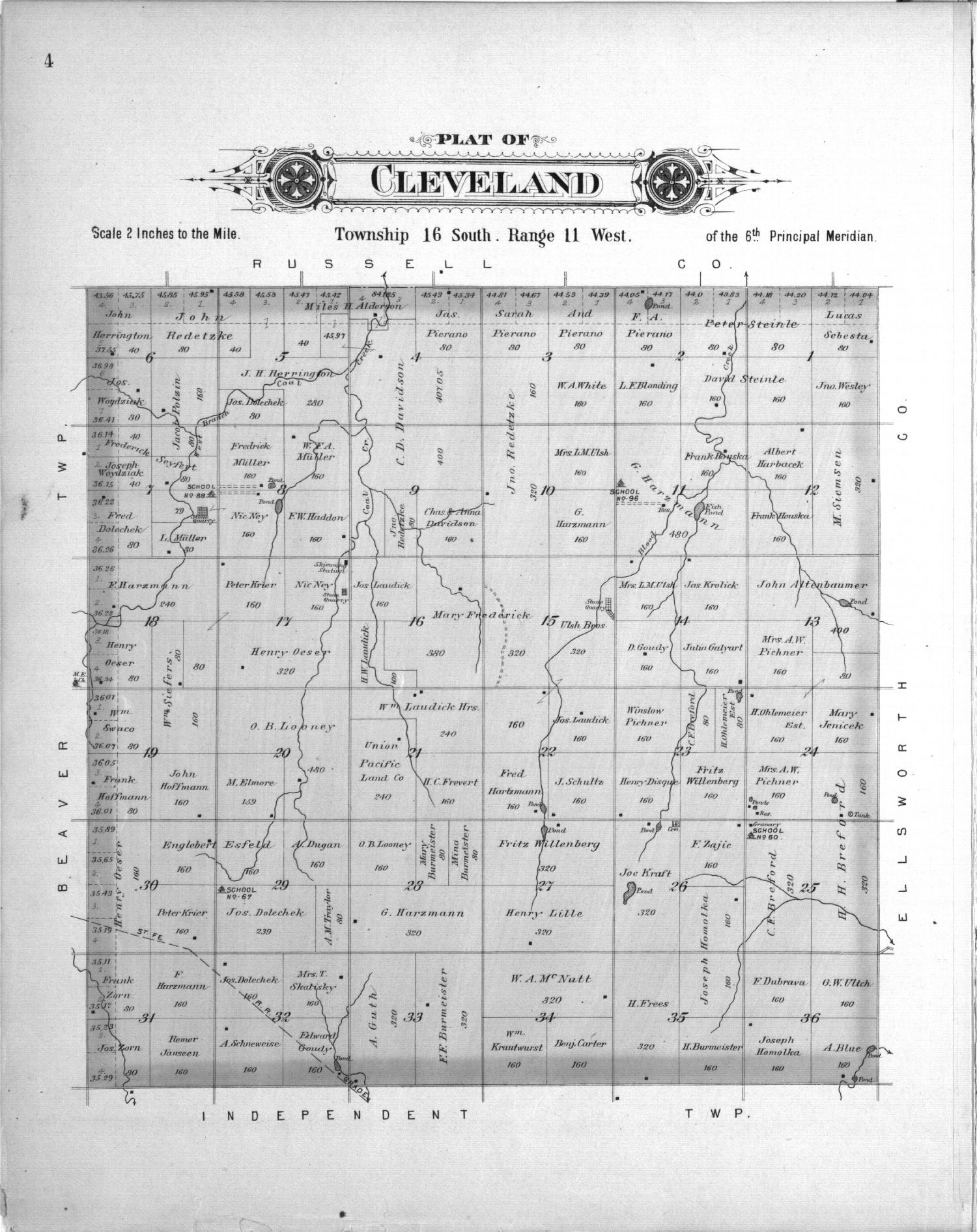 Plat book, Barton County, Kansas - 4