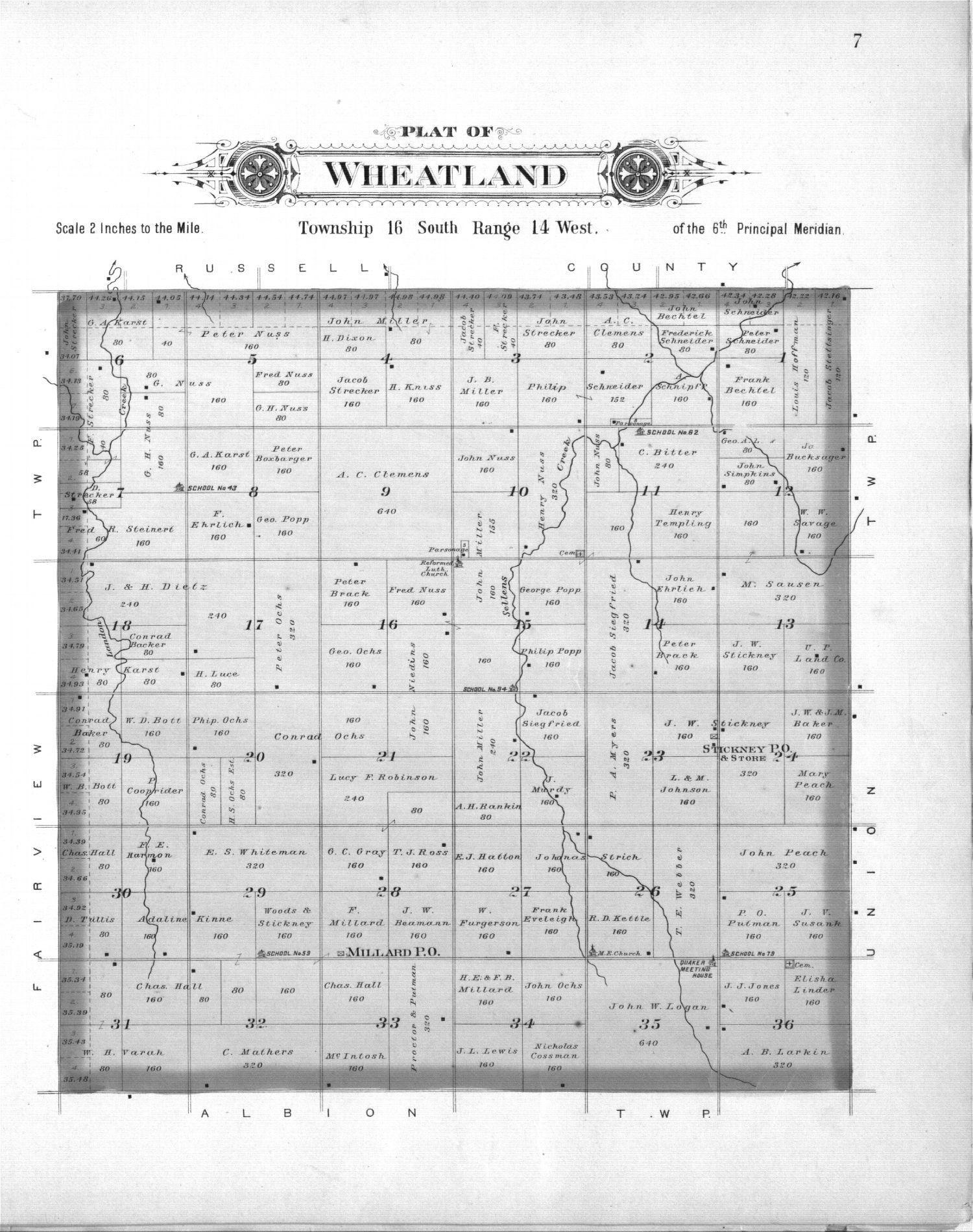 Plat book, Barton County, Kansas - 7