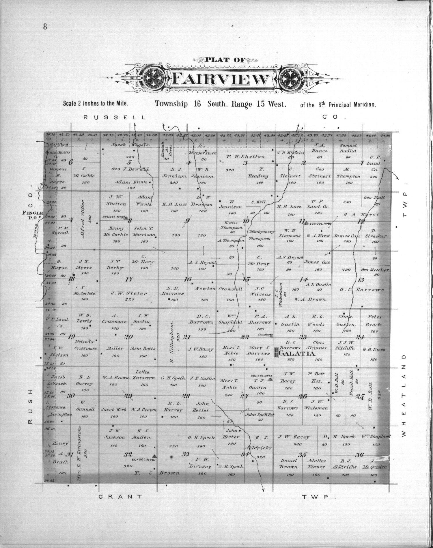 Plat book, Barton County, Kansas - 8