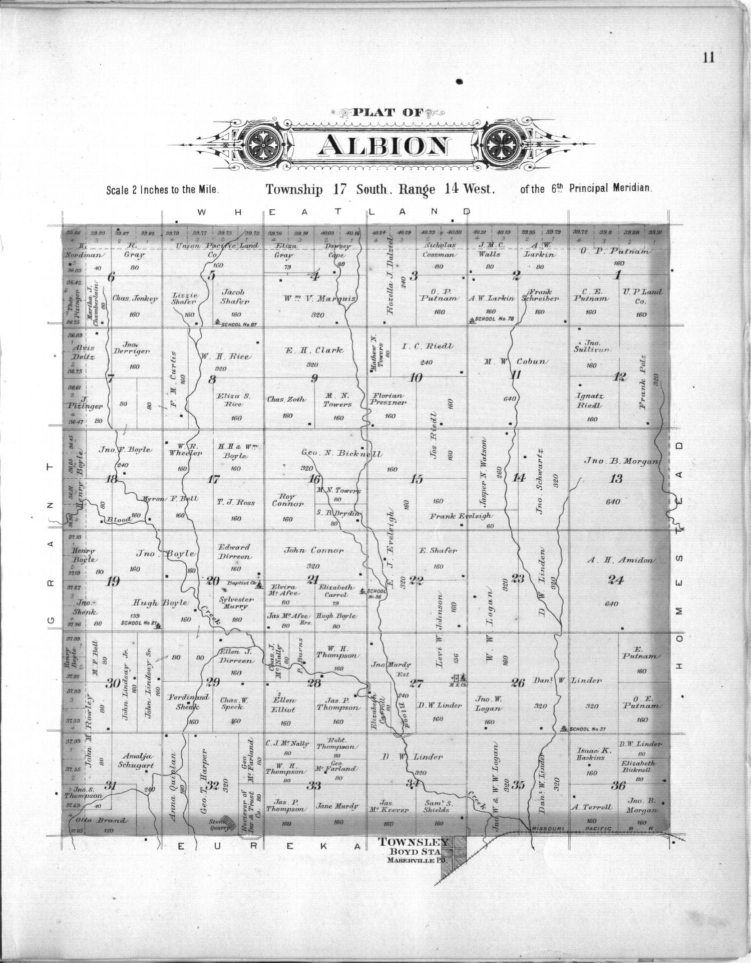 Plat book, Barton County, Kansas - 11