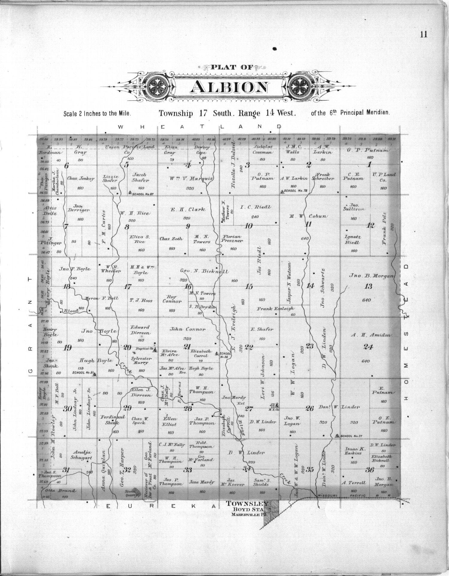 Plat book, Barton County, Kansas - 11