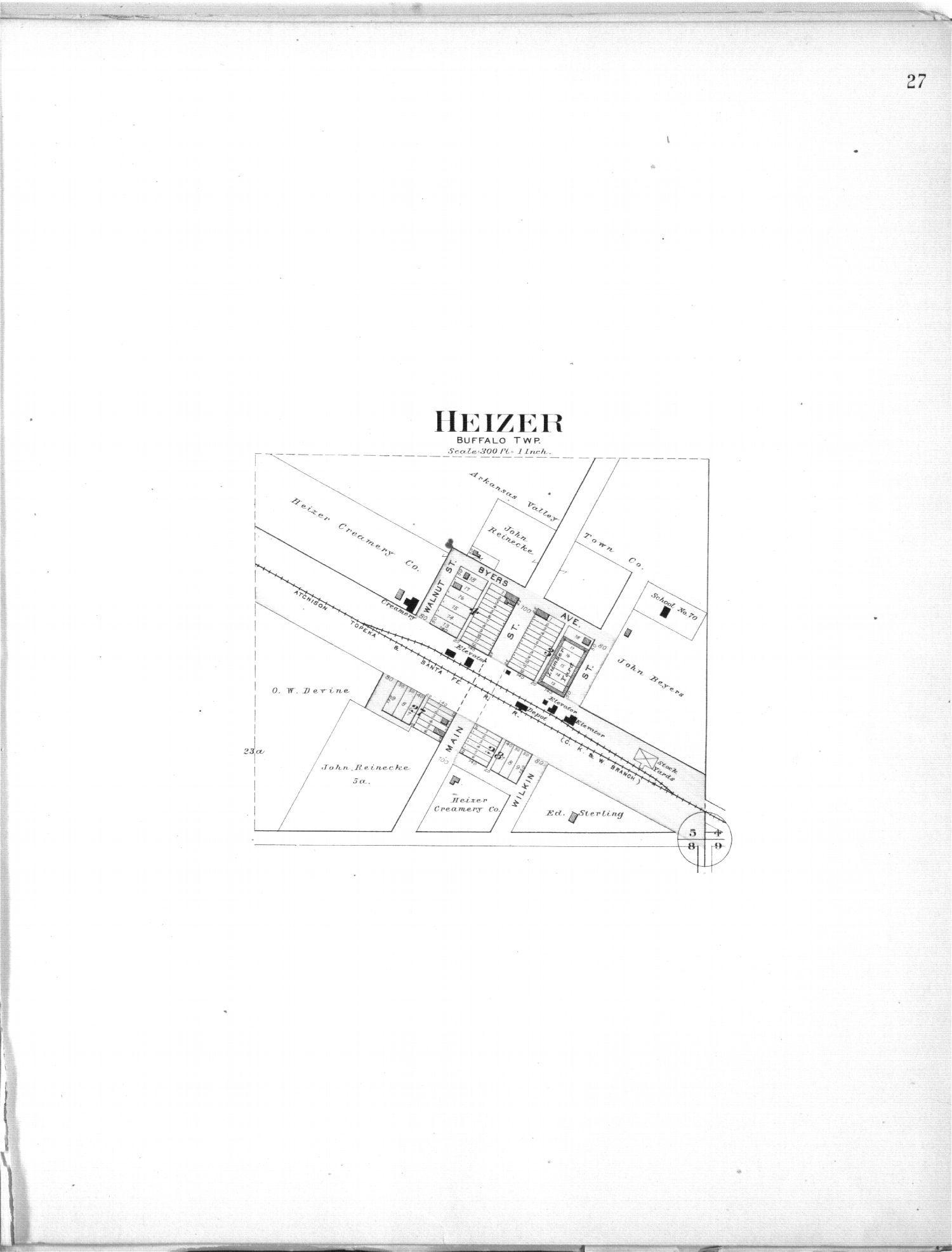 Plat book, Barton County, Kansas - 27