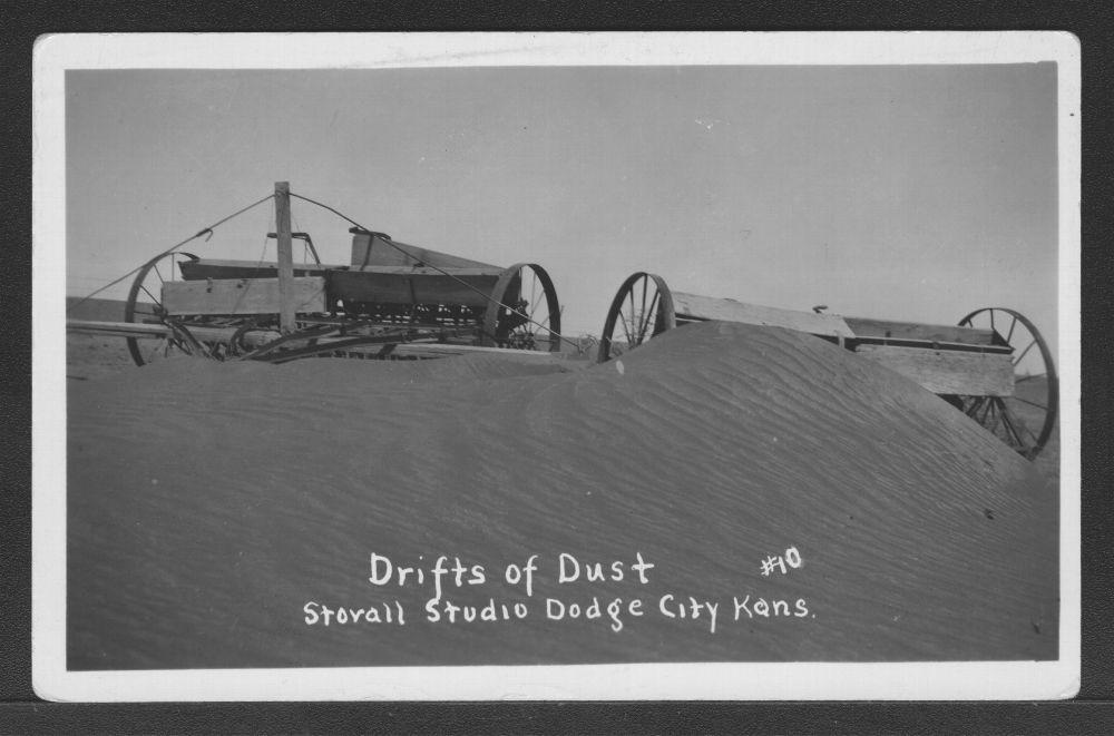 Drifts of dust