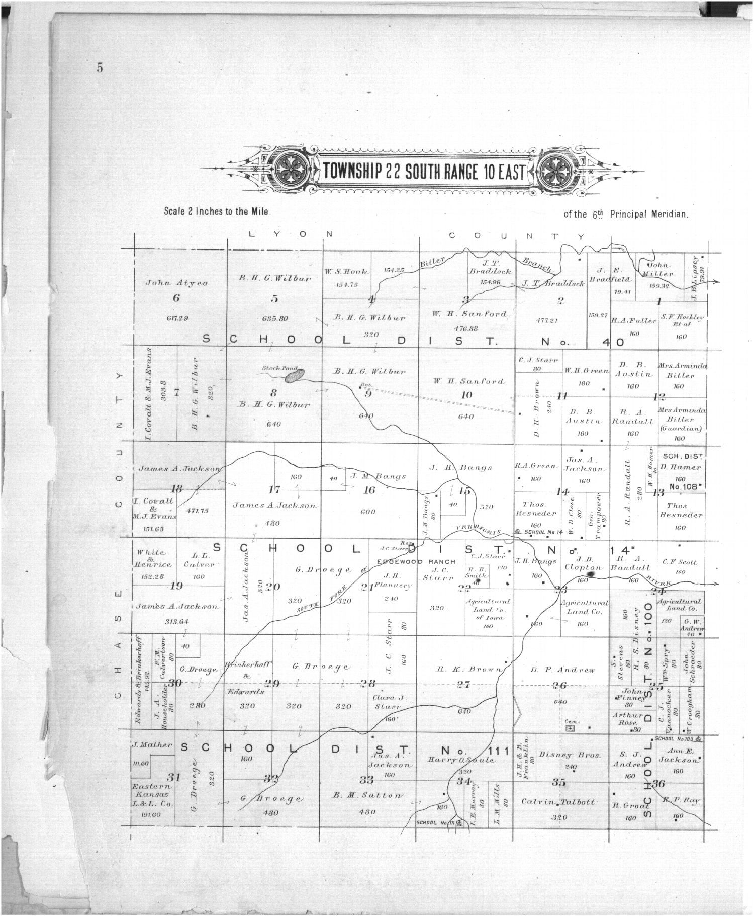 Plat book of Greenwood County, Kansas - 5