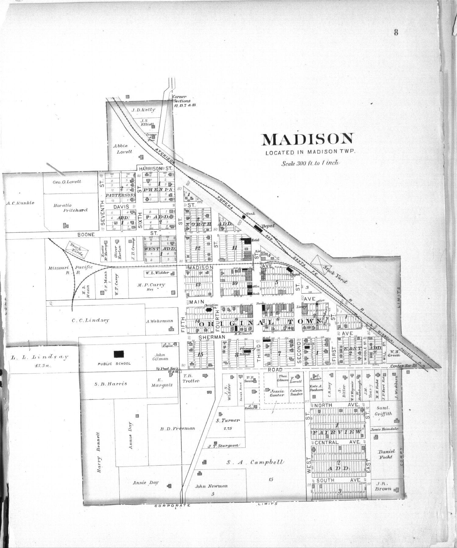 Plat book of Greenwood County, Kansas - 8