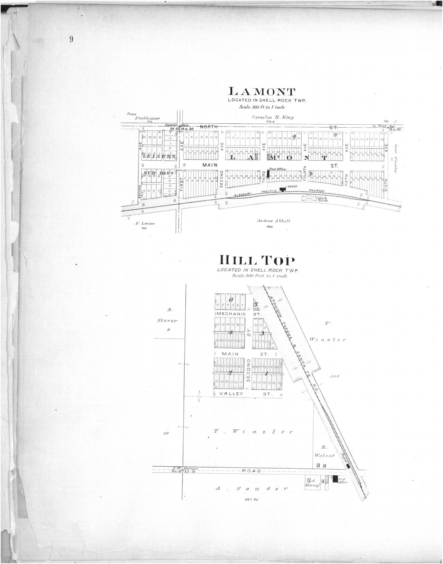 Plat book of Greenwood County, Kansas - 9