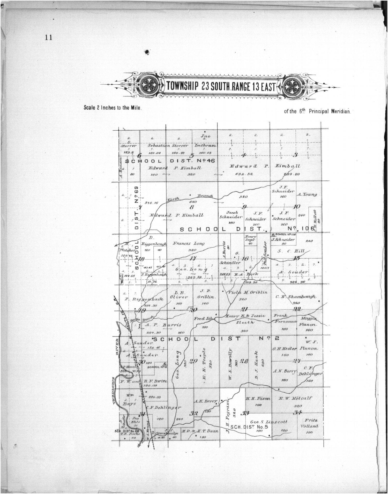 Plat book of Greenwood County, Kansas - 11