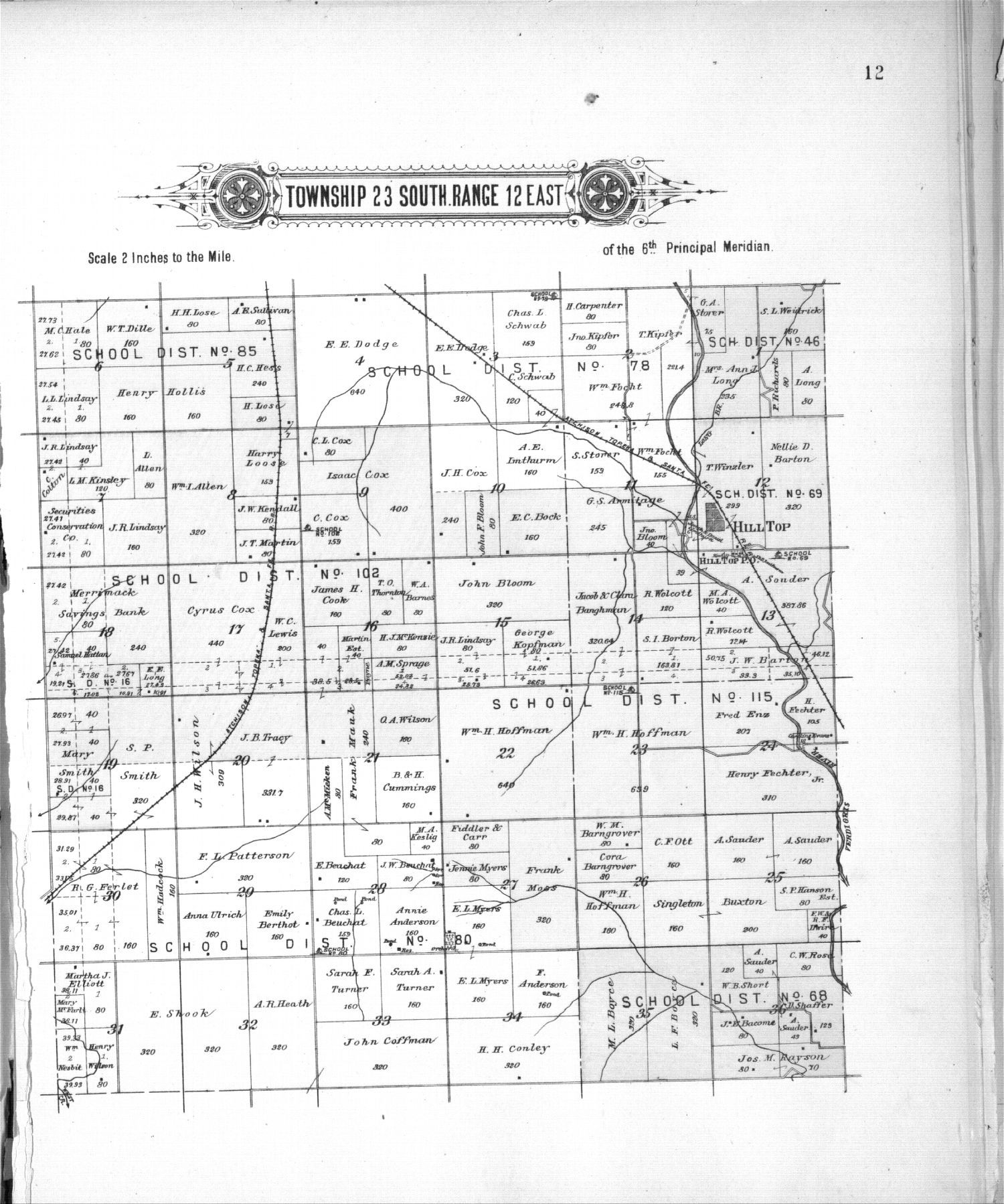 Plat book of Greenwood County, Kansas - 12
