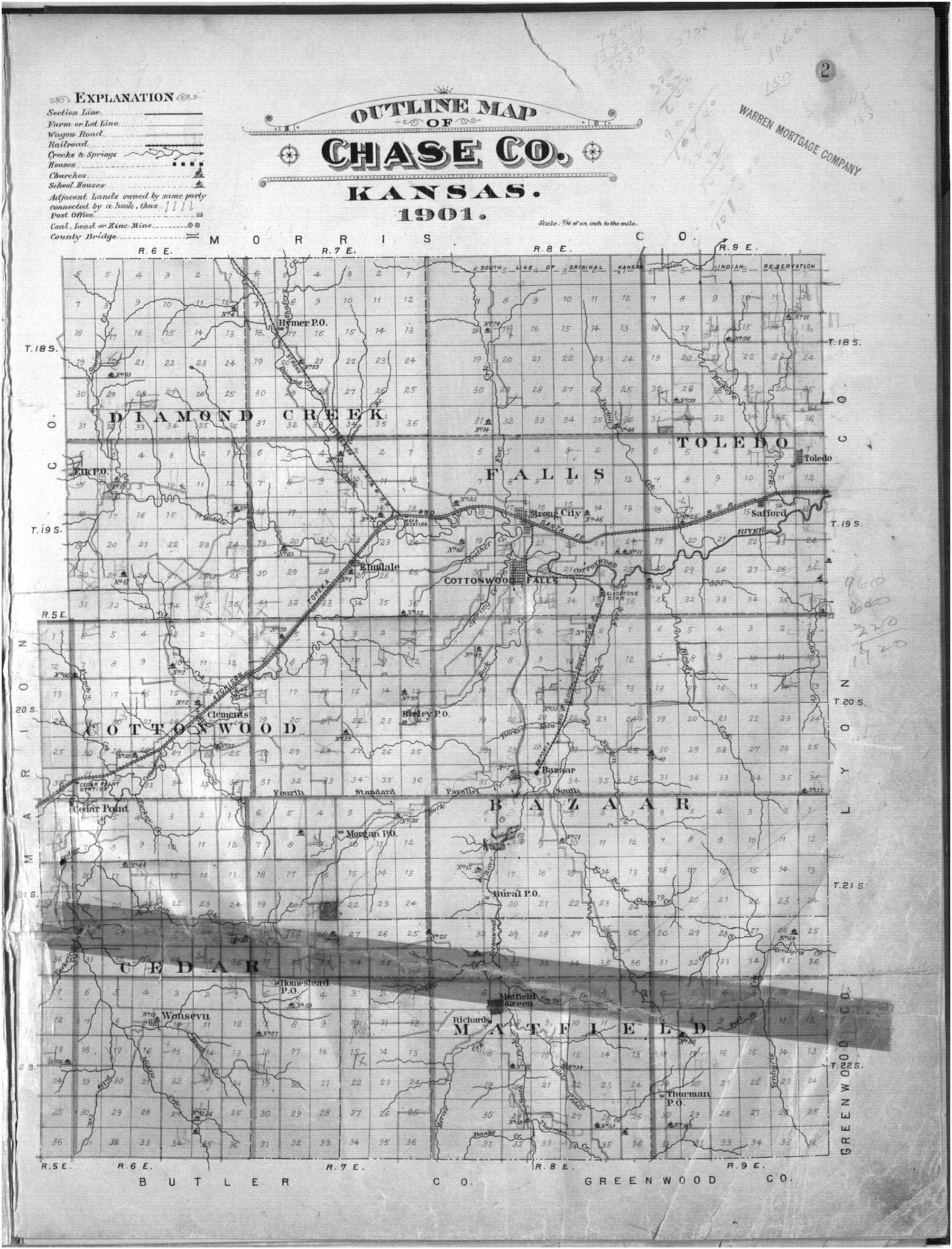 Plat book, Chase County, Kansas - 2