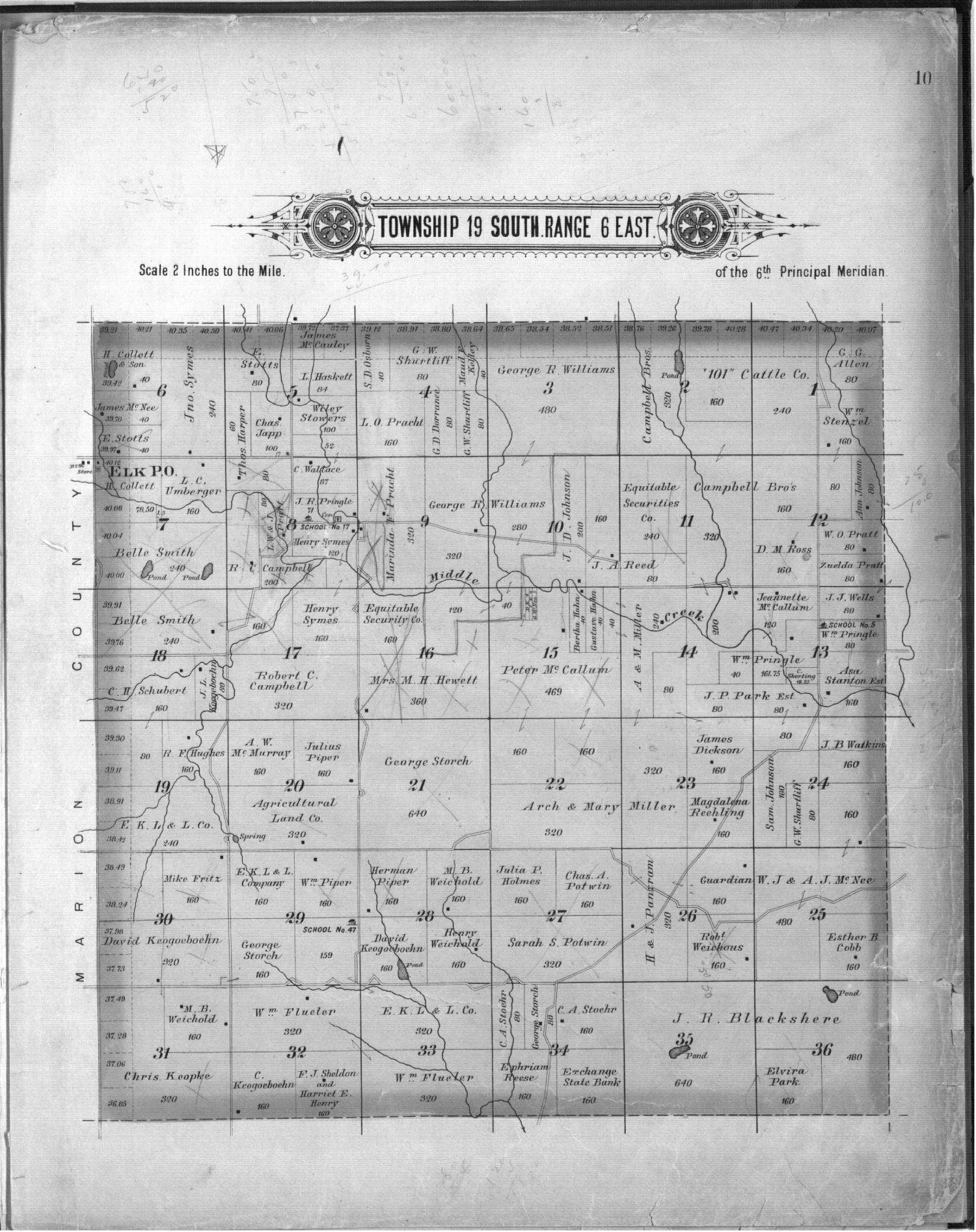 Plat book, Chase County, Kansas - 10