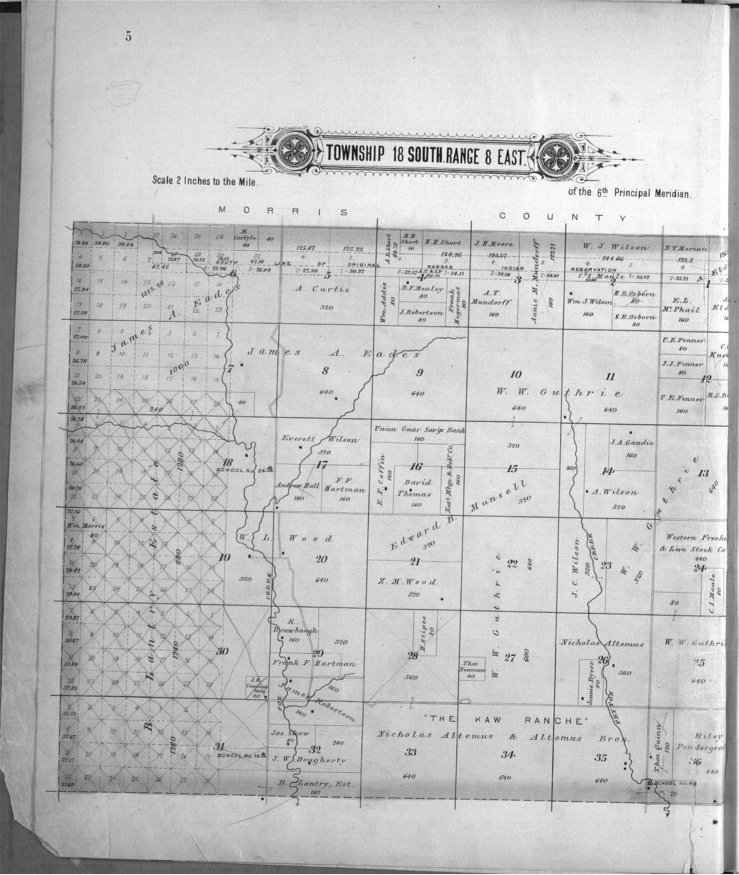 Plat book, Chase County, Kansas - 5