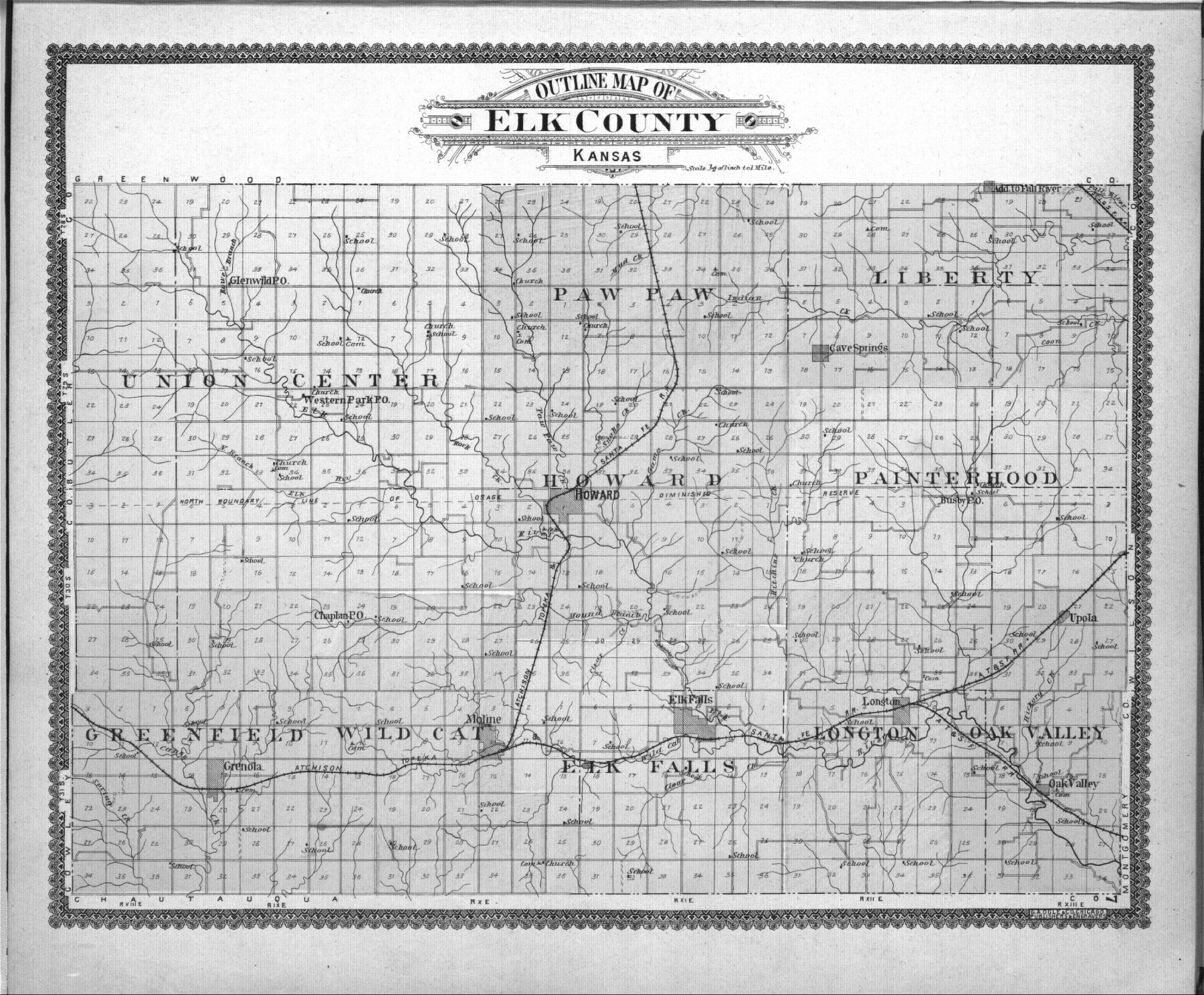 Standard atlas of Elk County, Kansas - 7