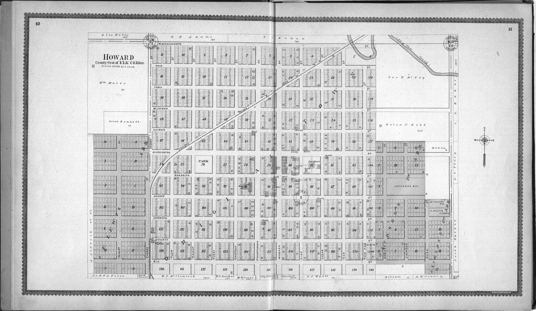 Standard atlas of Elk County, Kansas - 10 &  11
