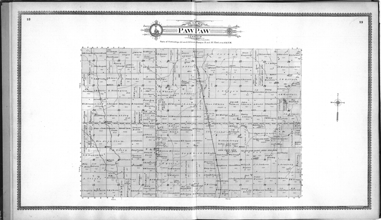 Standard atlas of Elk County, Kansas - 18 & 19
