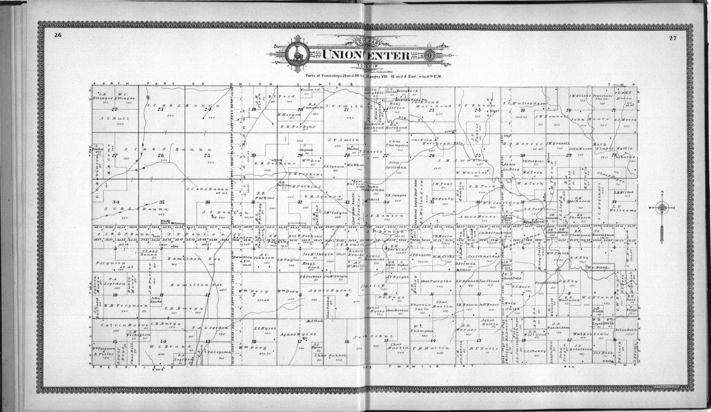 Standard atlas of Elk County, Kansas - 26 & 27