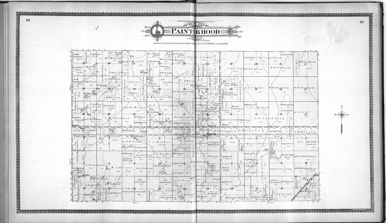 Standard atlas of Elk County, Kansas - 34 & 35