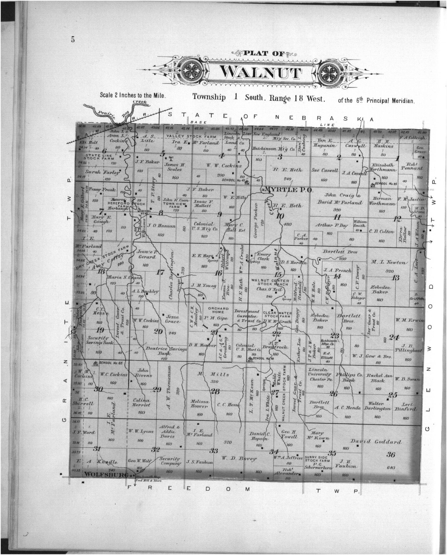 Plat book, Phillips County, Kansas - 5