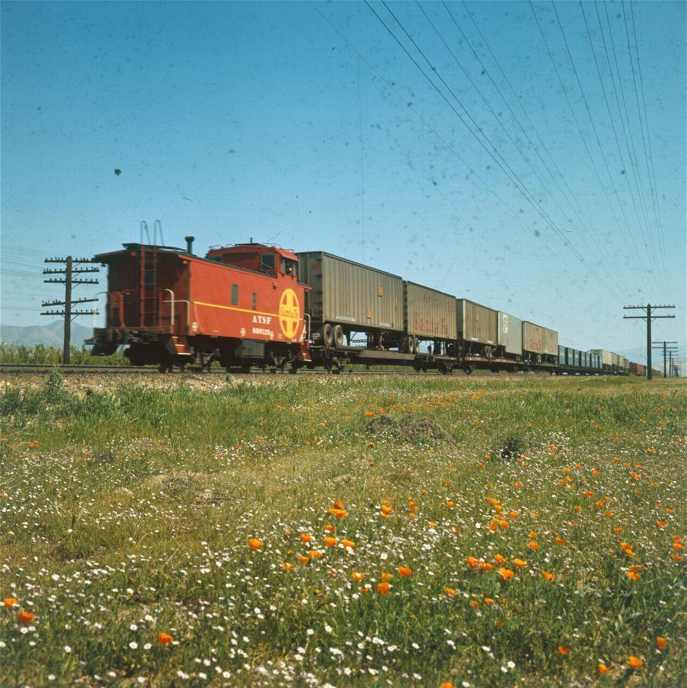 Atchison, Topeka & Santa Fe Railway freight train