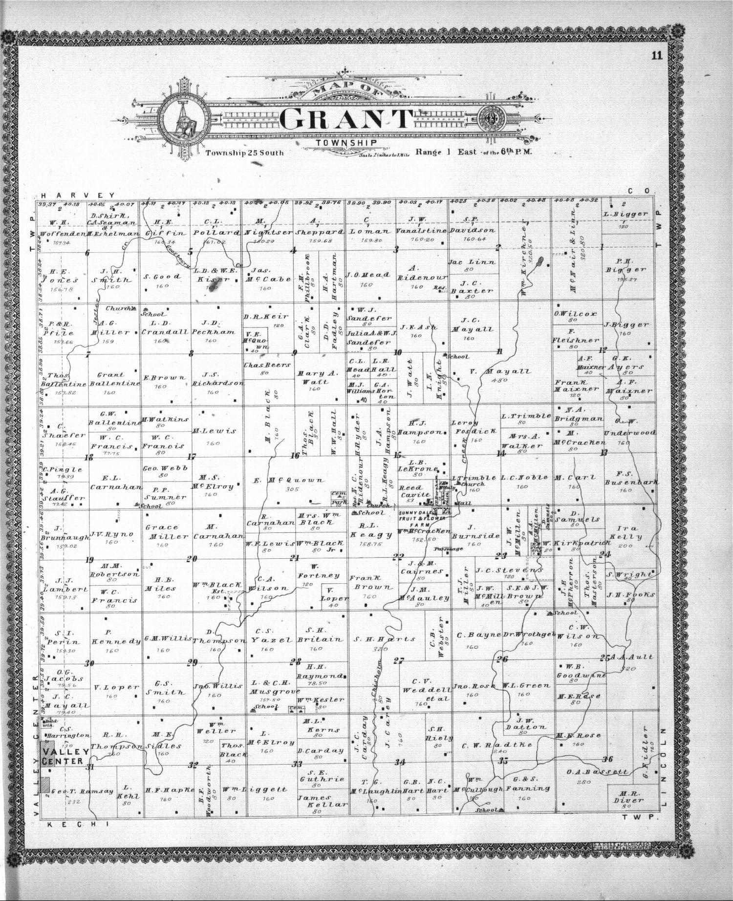 Standard atlas of Sedgwick County, Kansas - 11