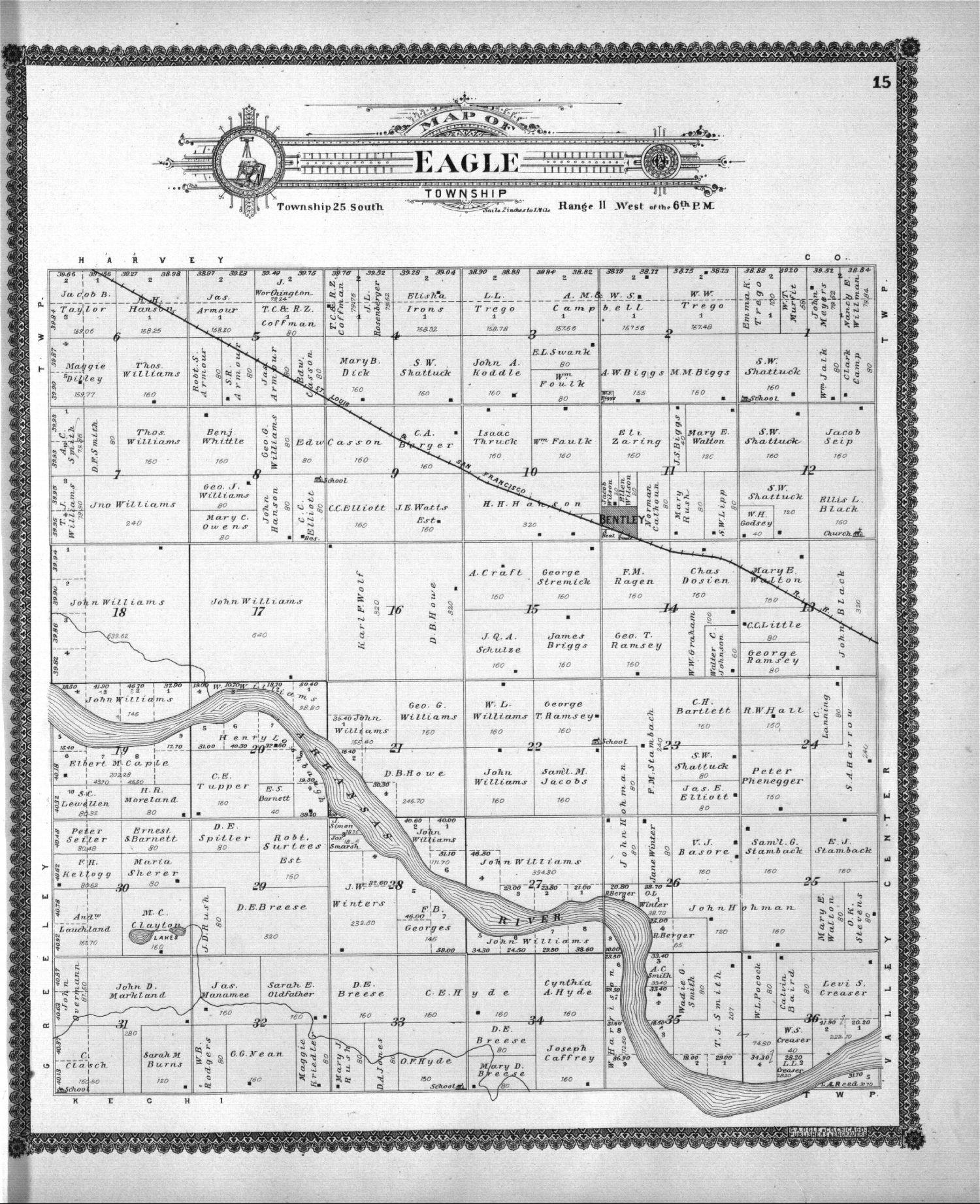Standard atlas of Sedgwick County, Kansas - 15