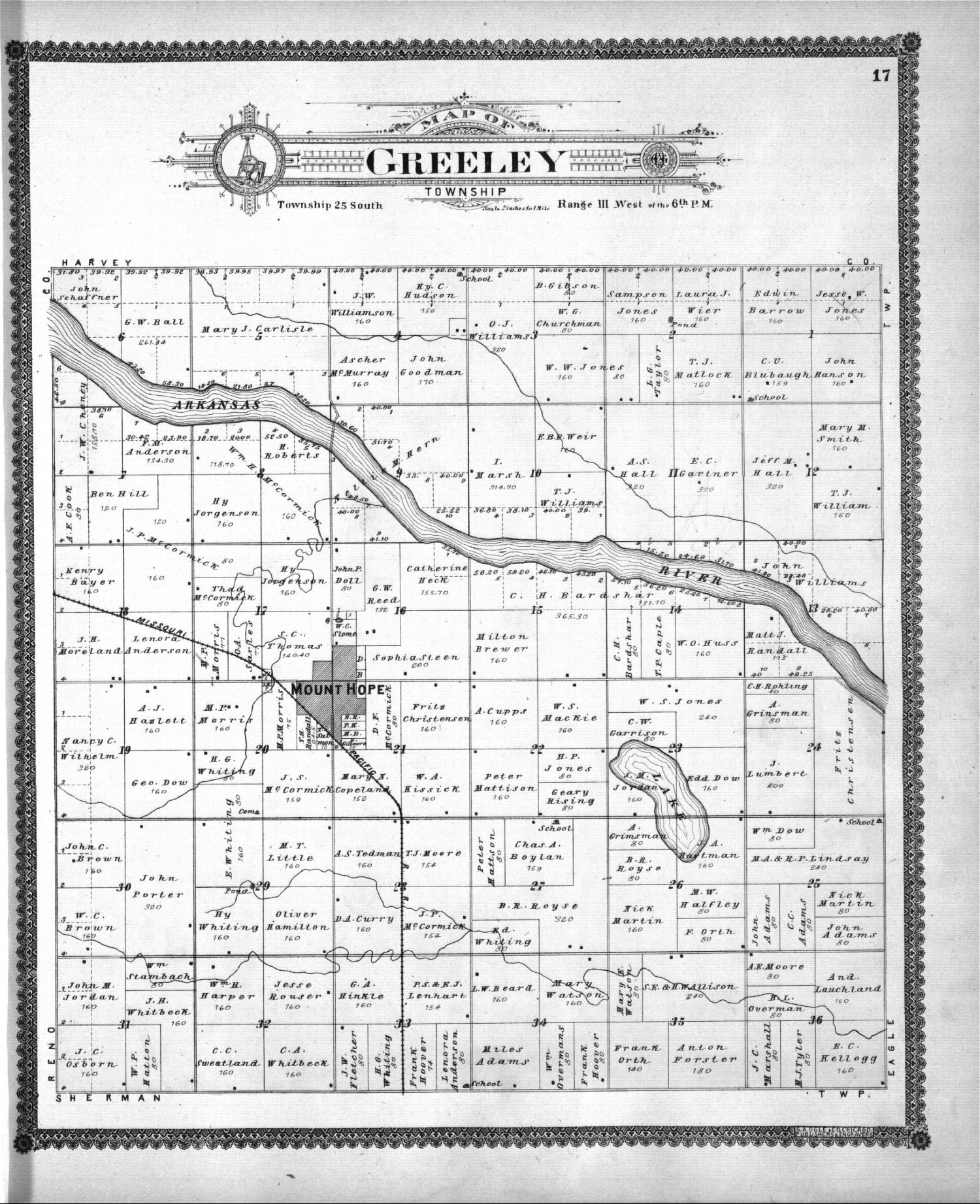 Standard atlas of Sedgwick County, Kansas - 17