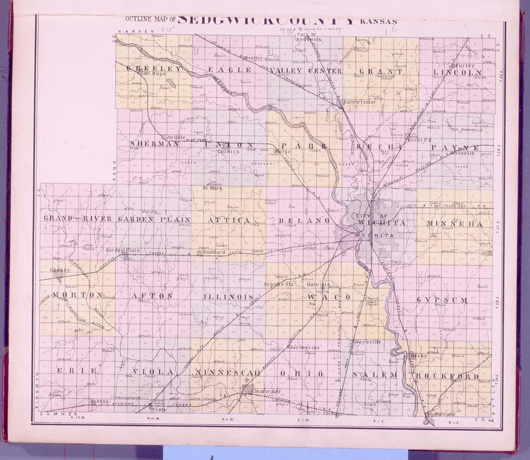 Standard atlas of Sedgwick County, Kansas - 7