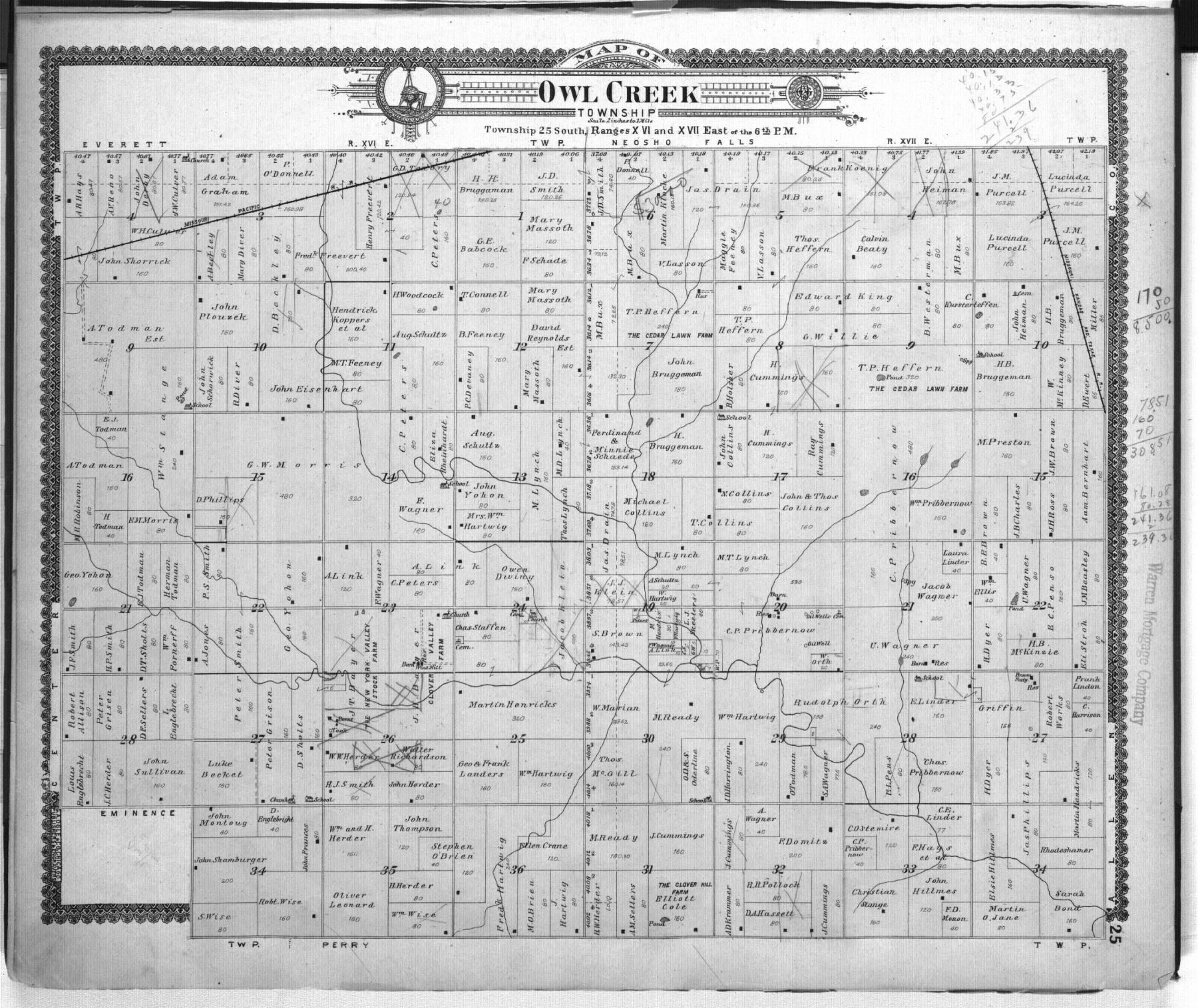 Standard atlas of Woodson County, Kansas - 25