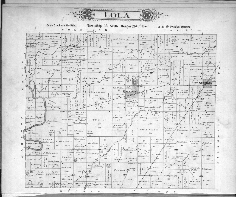 Plat book, Cherokee County, Kansas - 9