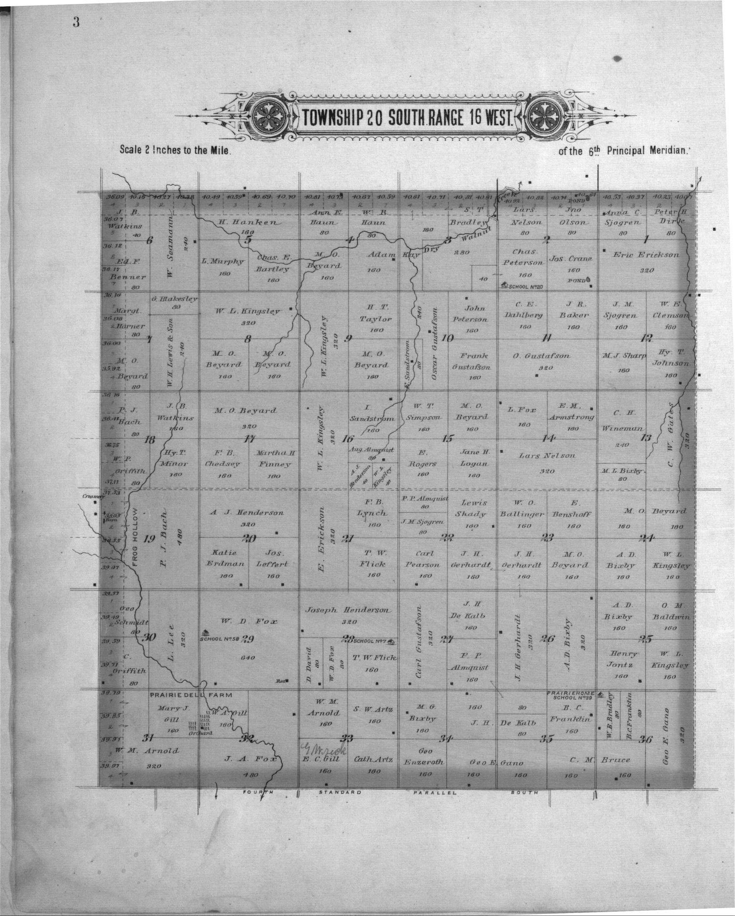 Plat book of Pawnee County, Kansas - 3