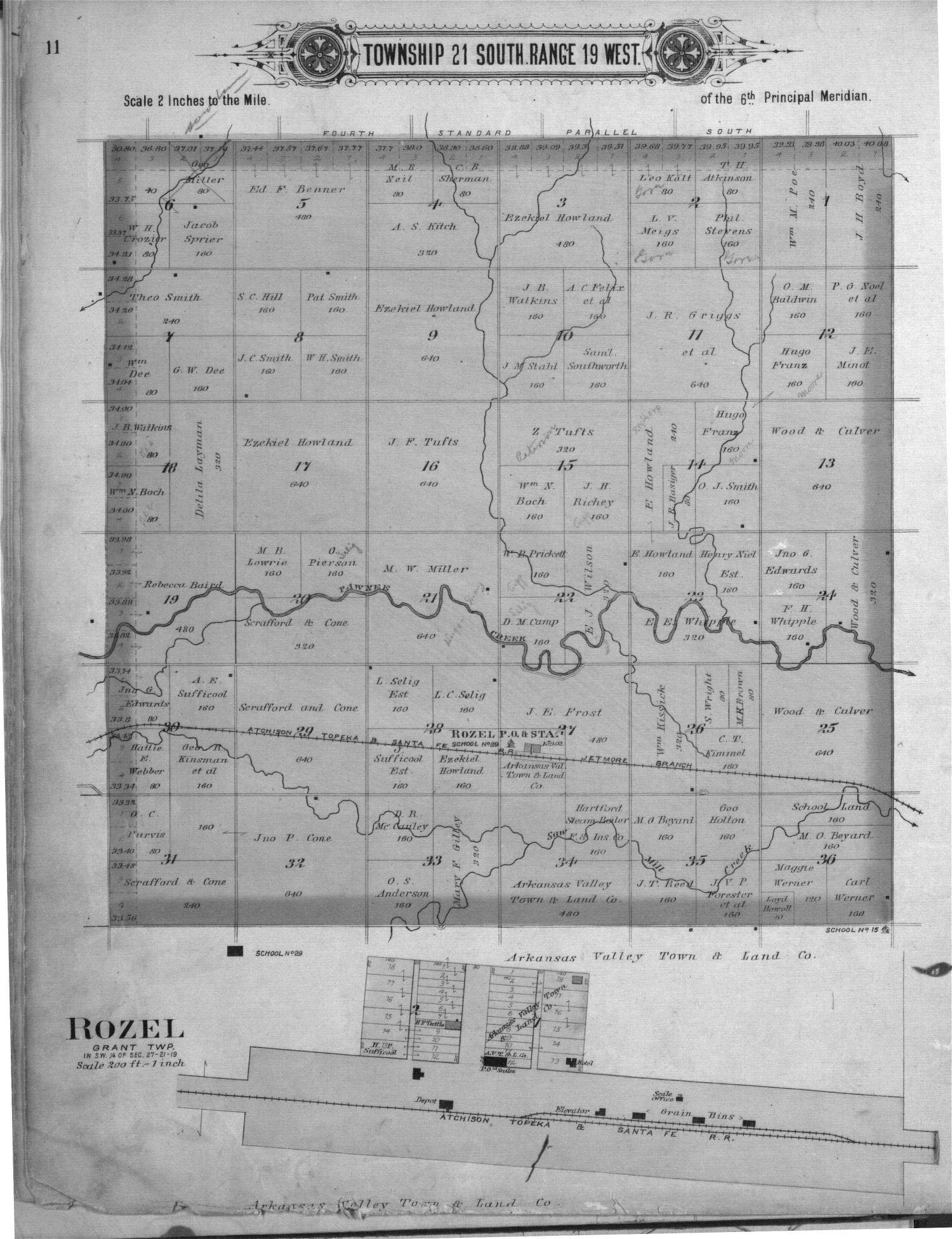 Plat book of Pawnee County, Kansas - 11