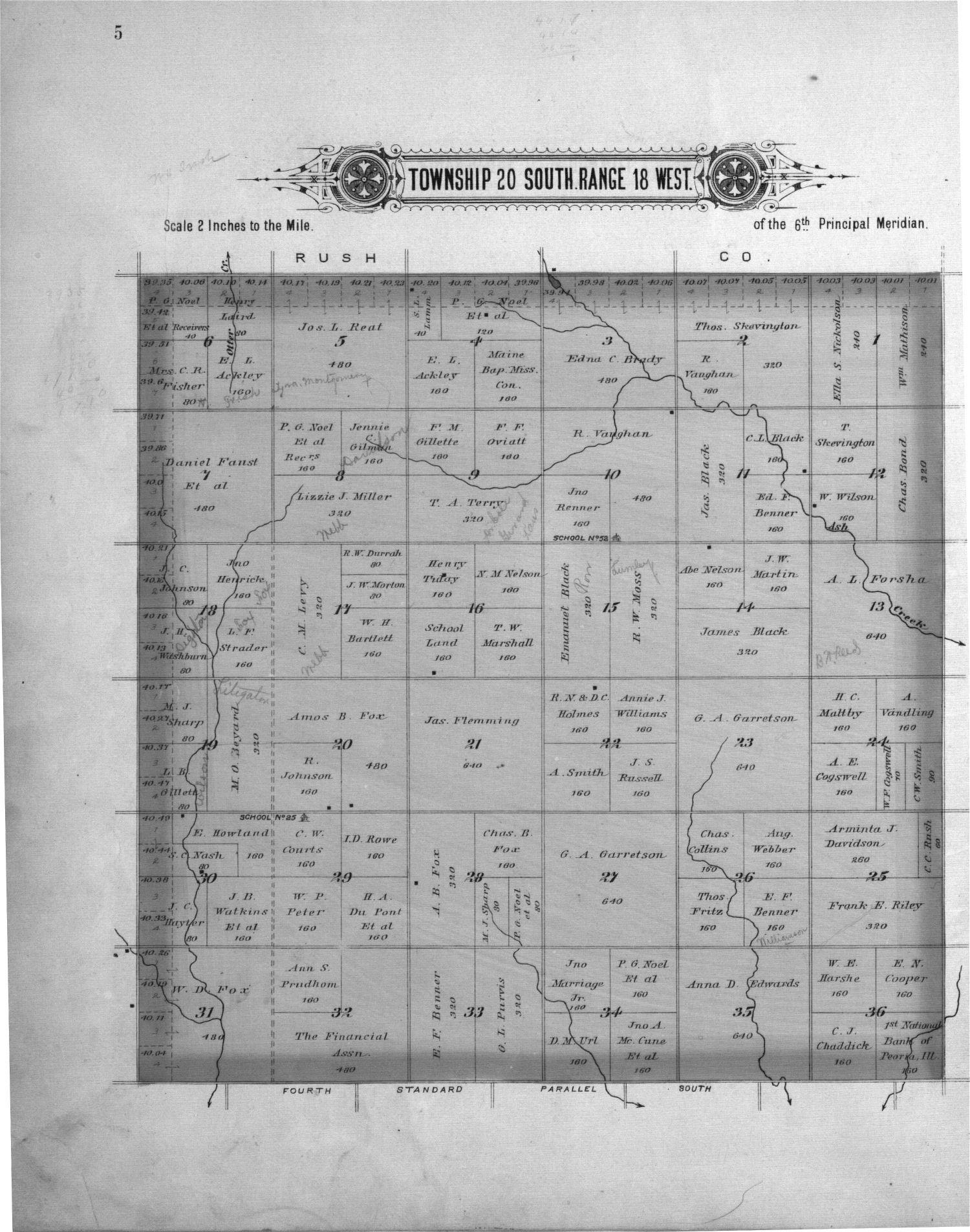 Plat book of Pawnee County, Kansas - 5