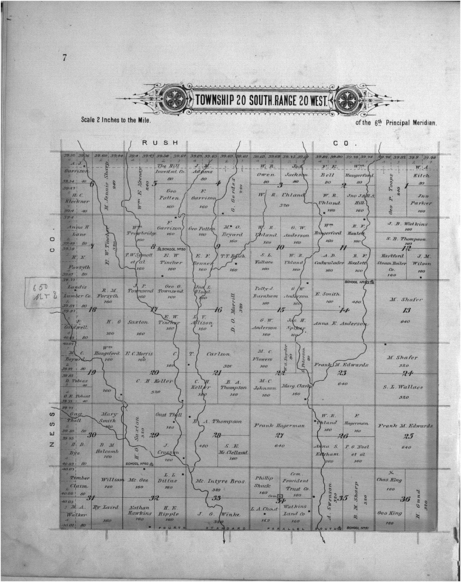 Plat book of Pawnee County, Kansas - 7