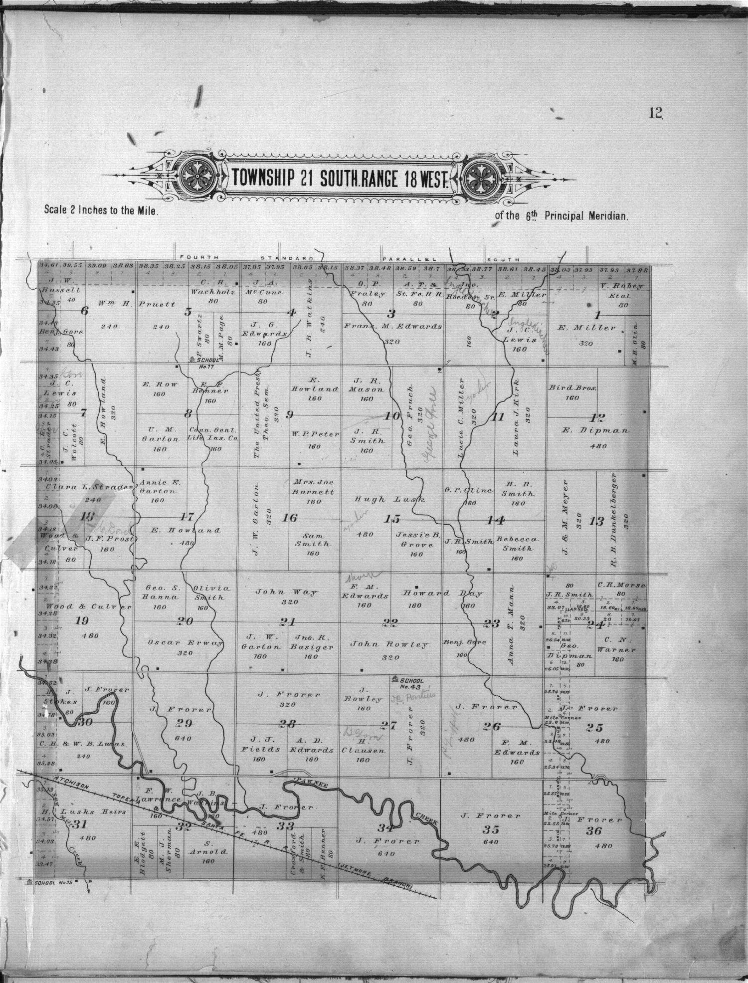 Plat book of Pawnee County, Kansas - 12