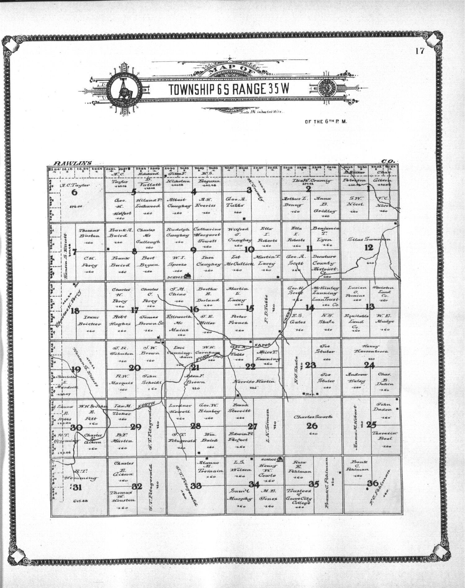 Standard atlas of Thomas County, Kansas - 17