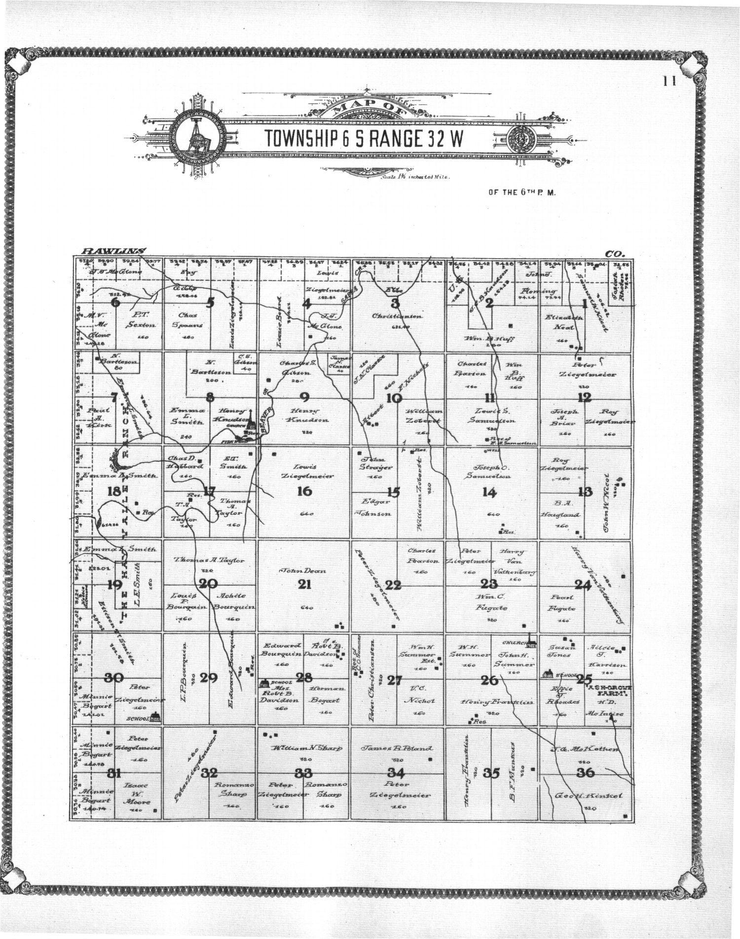 Standard atlas of Thomas County, Kansas - 11