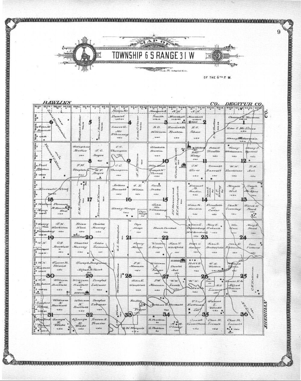 Standard atlas of Thomas County, Kansas - 9