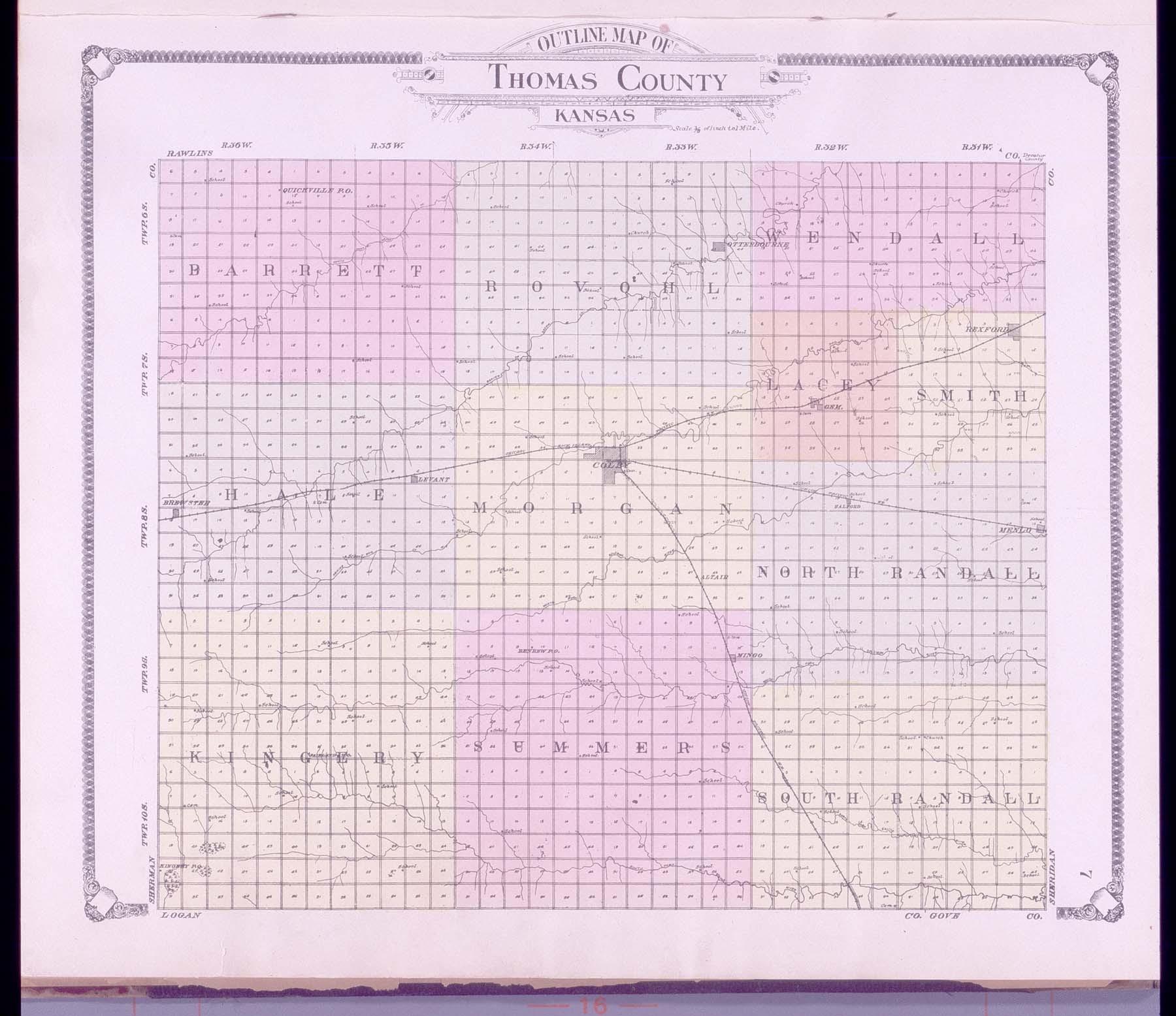 Standard atlas of Thomas County, Kansas - 7
