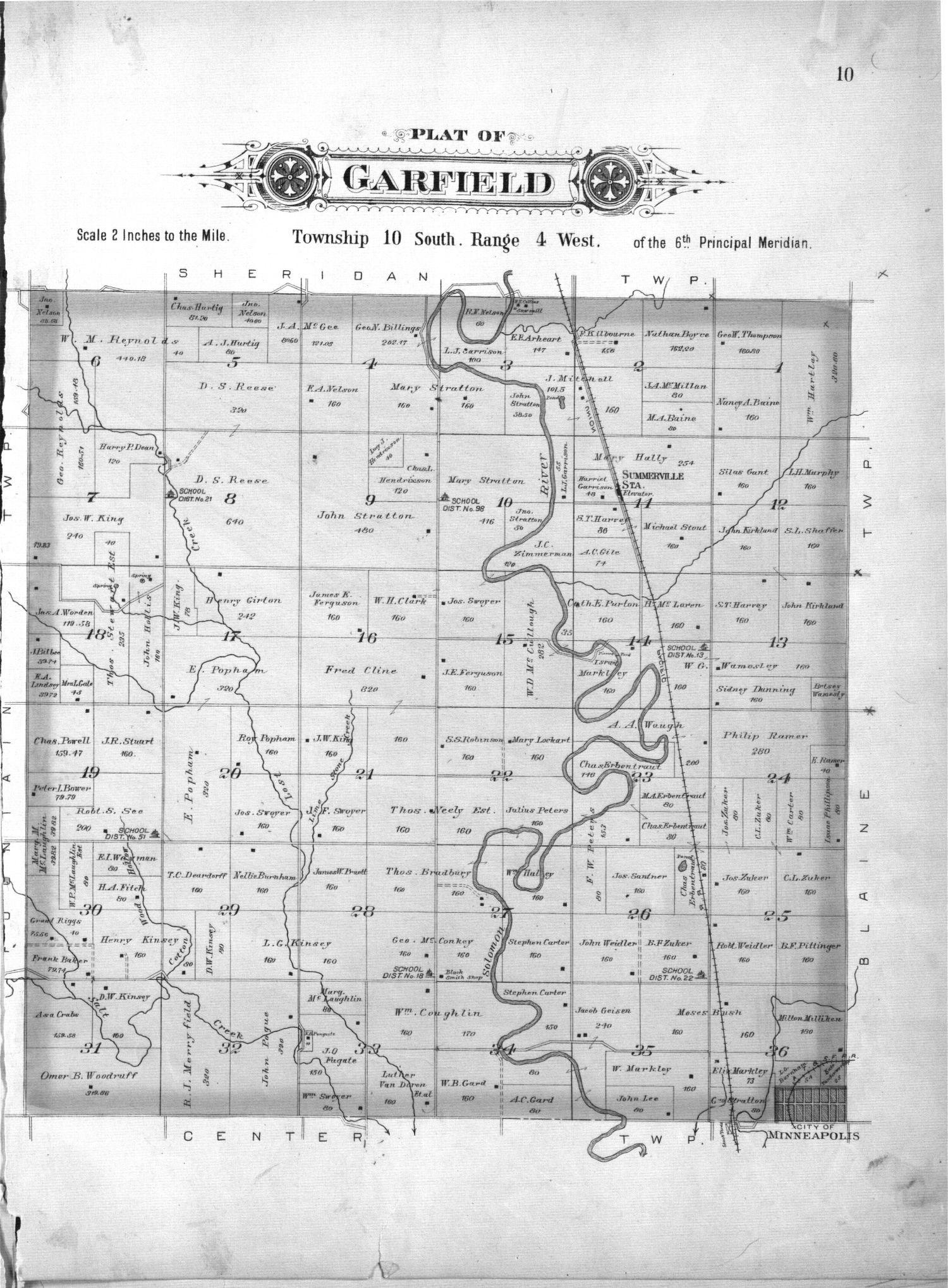 Plat book of Ottawa County, Kansas - 10