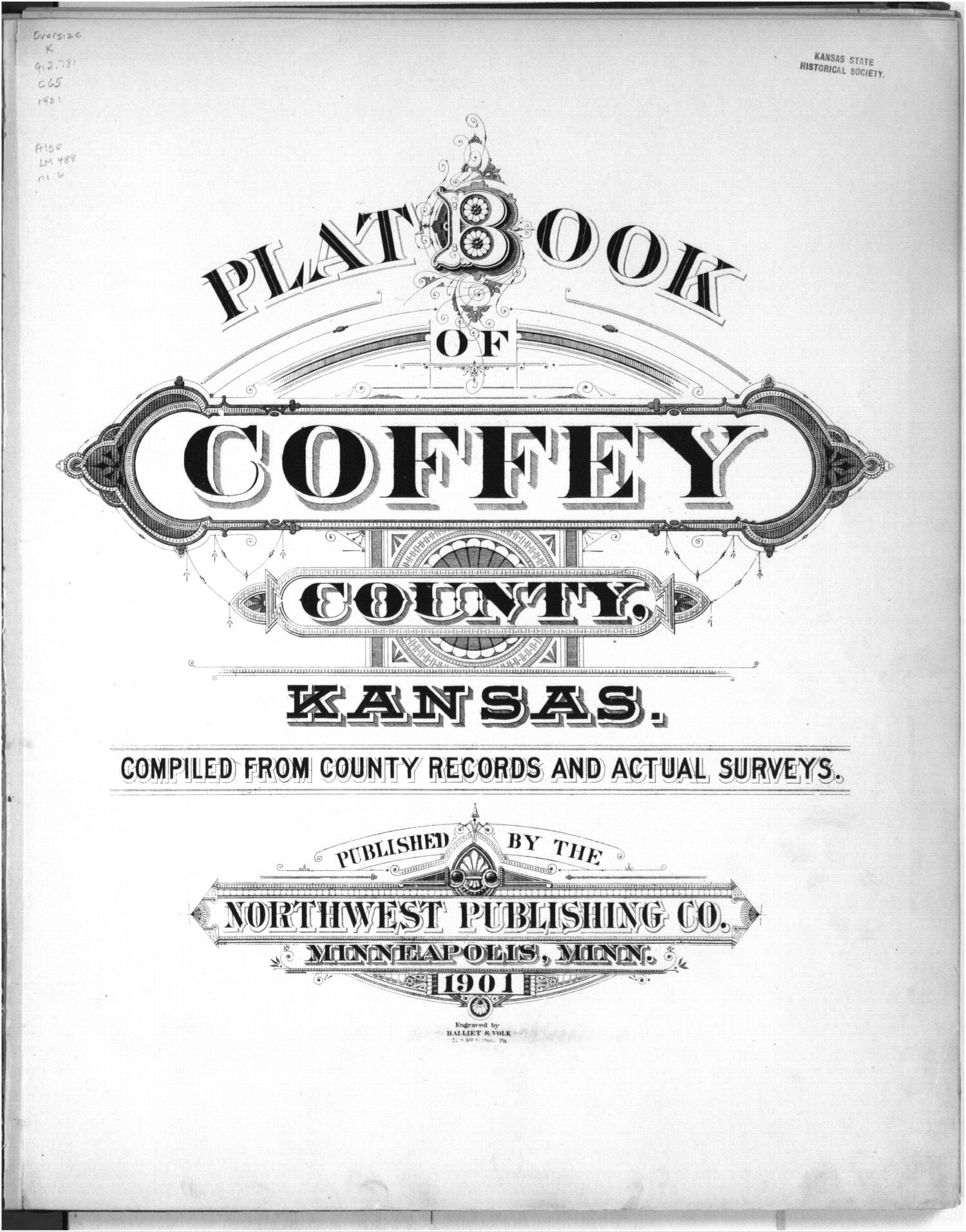 Plat book, Coffey County, Kansas - Title Page