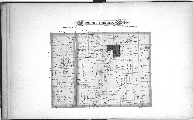 Plat book, Coffey County, Kansas - 3 & 4