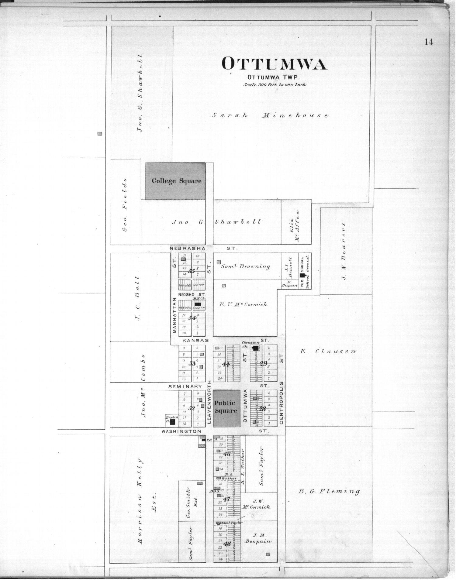Plat book, Coffey County, Kansas - 14