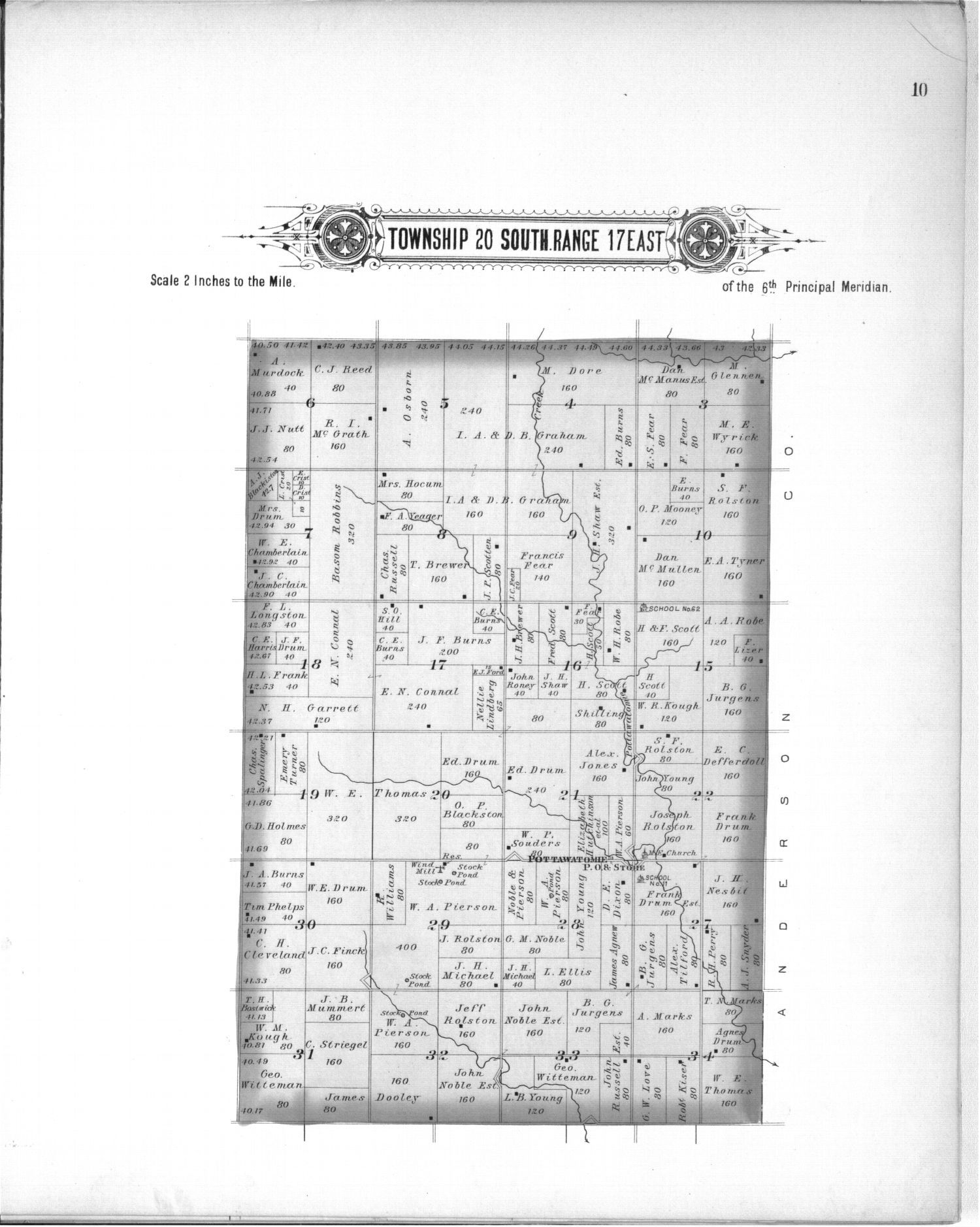Plat book, Coffey County, Kansas - 10